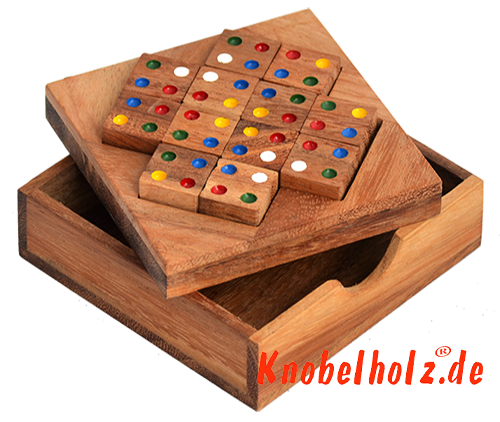 colour match box large from samanea wood brain teaser puzzle