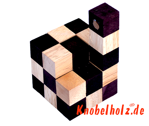 Snake cube solution of the color nature brown beige the snake cube level box step 11 of the solution wooden puzzle