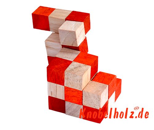 snake cube level box solution orange step 12 from solution for the snake cube wooden puzzle