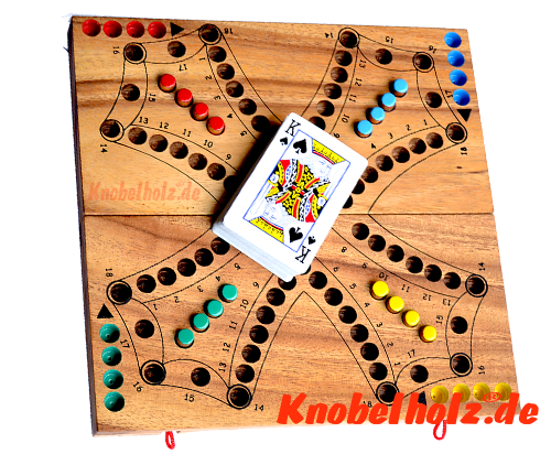 Tock, Tac, Dog Game or Dog Game made of wood Game situation for game rules Game Instructions Brändi Dog