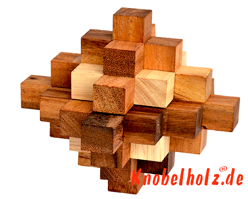 solutions for all 3D wood puzzle from Samanea