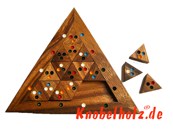 Colour Match Triangle Puzzle