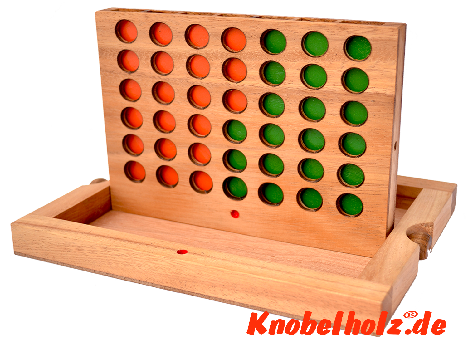 connect four bingo four in row with chips in samanea wooden box