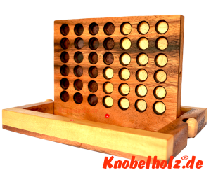 Connect four, Bingo, four in a row Samanea wood strategy game with chips in size  24,0 x 18,5 x 6 cm , connect four monkey pod4,0 x 18,5 x 6 cm , connect four monkey pod bingo