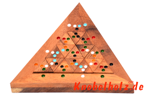 Colour Match Triangle das Farbpuzzle Dominotriangle mit farbigen Punkten