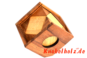 Triangle Cube Puzzle Box in 3 D Holzbox für 1 Spieler mit  Lösung thinking out of the box brain teaser